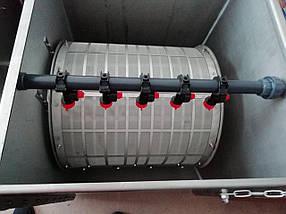 Барабанный фильтр ≥ 360 м3/ч AVA SF-200 из нержавеющей стали, фото 2