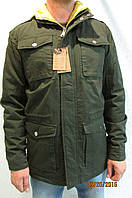Мужская спортивная куртка Malyate Classics 022 темное хаки  код 237б, фото 1