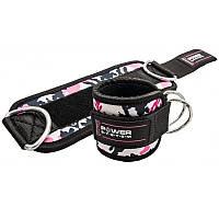 Манжеты на лодыжку Ankle Strap Camo PS-3470 Pink-Black SKL24-145367