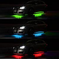 Подсветка днища автомобиля 2 полосы - 120 см | 2 полосы - 90 см