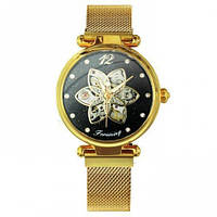 Часы Forsining Gold-Black Diamonds SKL39-226185