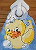 Полотенце с петелькой Уточка (40*70 для рук)
