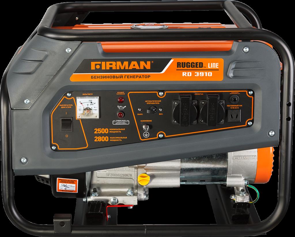 Генератор бензиновый Firman RD3910