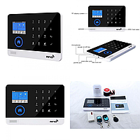 GSM сигнализация для дома с датчиком движения и WIFI Alarm JYX-W-G600