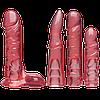 Набор для страпона Doc Johnson Vac-U-Lock - Crystal Jellies Set, фото 3