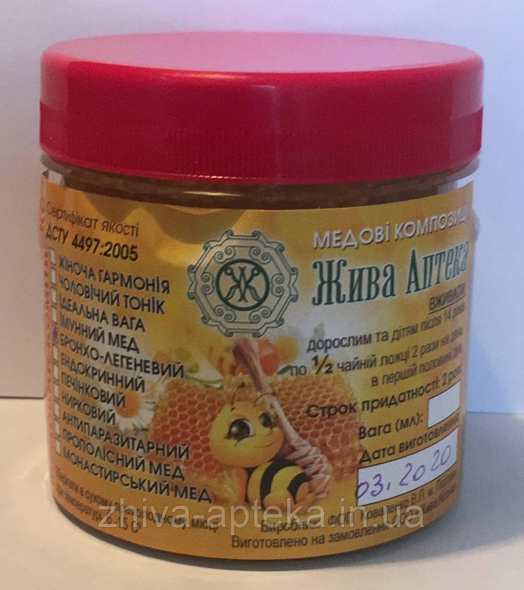 Монастырский мед (комплекс № 3) 200 грамм