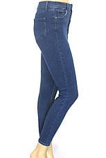Жіночі джинси skinny, slim висока посадка, фото 3