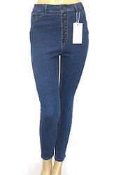 Жіночі джинси skinny, slim висока посадка