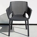 Стул садовый уличный Keter Elisa Chair, фото 7
