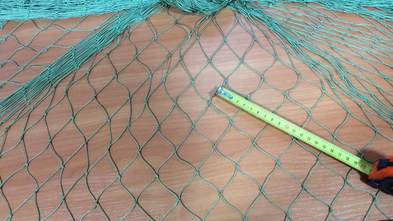 Сетка оградительная ячейка 40мм нитка 1,2