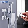Вбудований гігієнічний душ хром Gappo Jacob G7207-1, фото 2