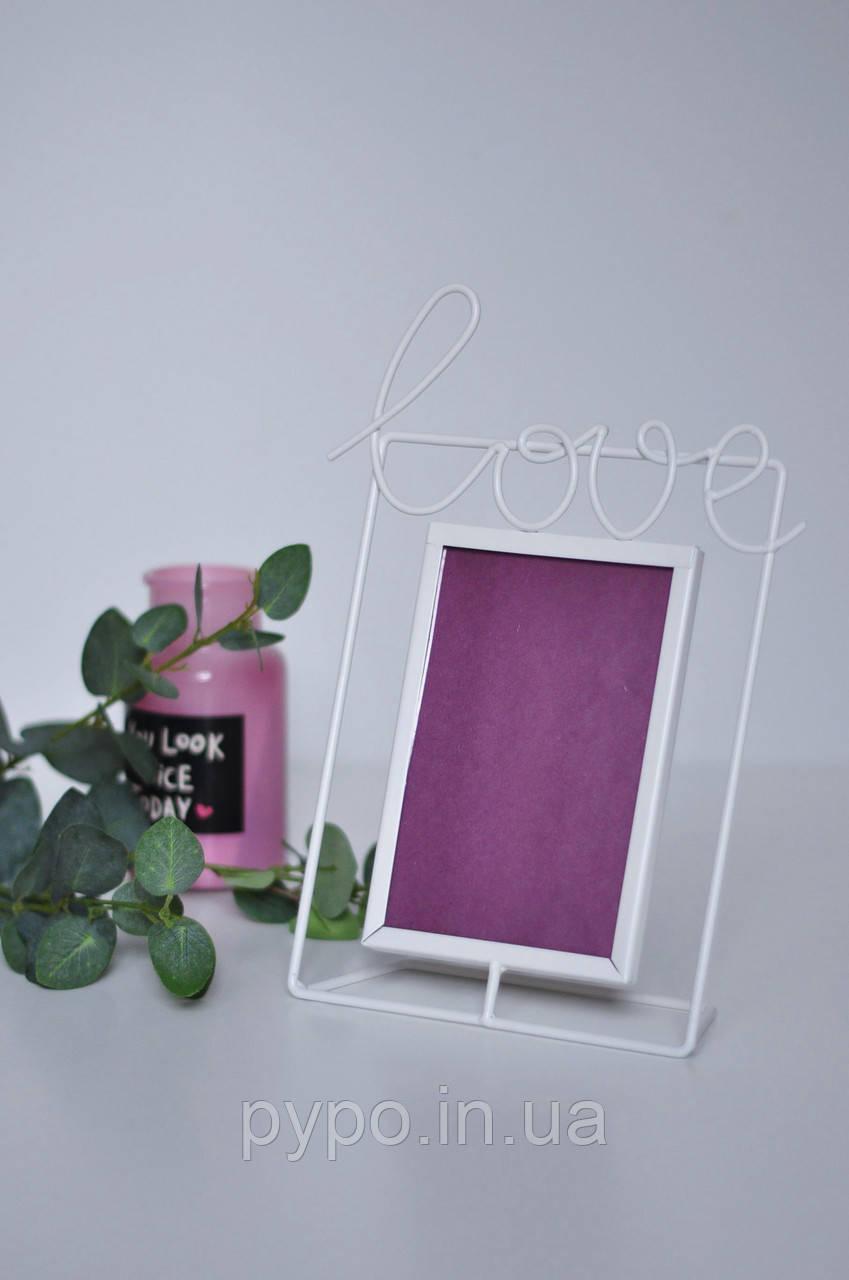 Фоторамка Fibona LOVE10х15 см