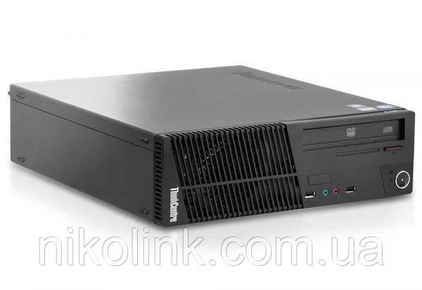 Компьютер Lenovo M72E SLIM (i3-3240 / память 8GB / новый SSD 120GB) Б/У + Windows key