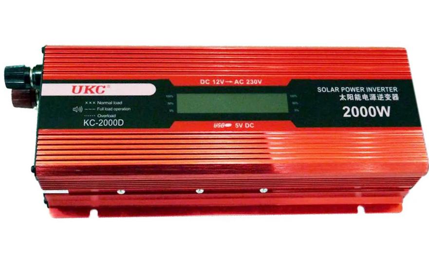 UKC 2000W KC-2000D Преобразователь тока AC/DC с LCD дисплеем