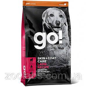Корм Go! для собак и щенков с ягненком | Go Natural Holistic Skin Coat Care Lamb Meal Recipe 1,59 кг