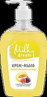 """Milky Dream жидкое крем-мыло,  флакон-дозатор """"Ароматная дыня и инжир"""" 500 мл"""