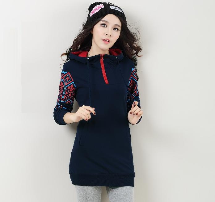 Женский свитер толстовка с капюшоном 44 46