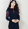 Женский свитер толстовка с капюшоном 44 46, фото 4
