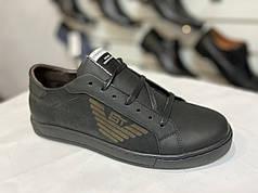 Мужские ботинки натуральная кожа Strado