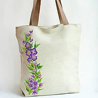 Сумка под вышивку бисером (нитками) Нежные цветы