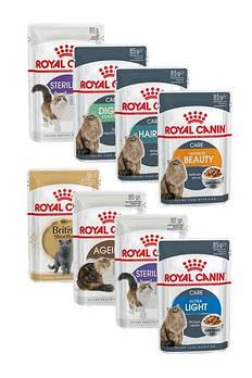 Консервированные корма для котов ROYAL CANIN