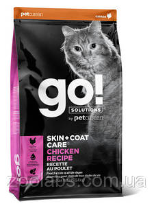 Корм Go! для кошек и котят с курицей | Go Natural Holistic Skin Coat Chicken Recipe 7,26 кг