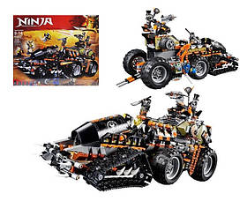 Конструктор ninja 61022 стремительный путешественник