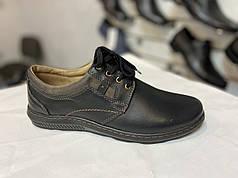 Мужские ботинки натуральная кожа Mateos