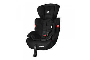 Детское автокресло BABYCARE Comfort BC-11901/1 Black, група 1 + 2 + 3, цвет черный