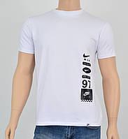 "Мужская футболка ""Премиум"" Nike(реплика) Белый, фото 1"