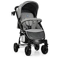 Коляска детская M 3409L «FAVORIT» Gray, прогулочная, колеса 4 шт, серая