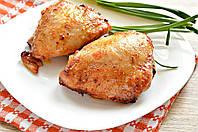 Куриное бедро запеченное