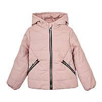 Куртка осіння дівчинка рожева