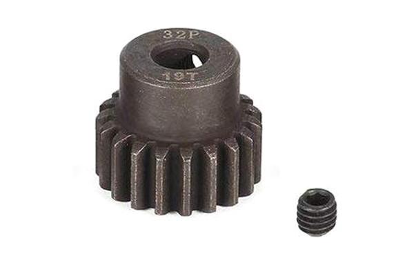 Пиньон стальной RCTurn M0.8 32 Pitch под вал 5мм (19T)