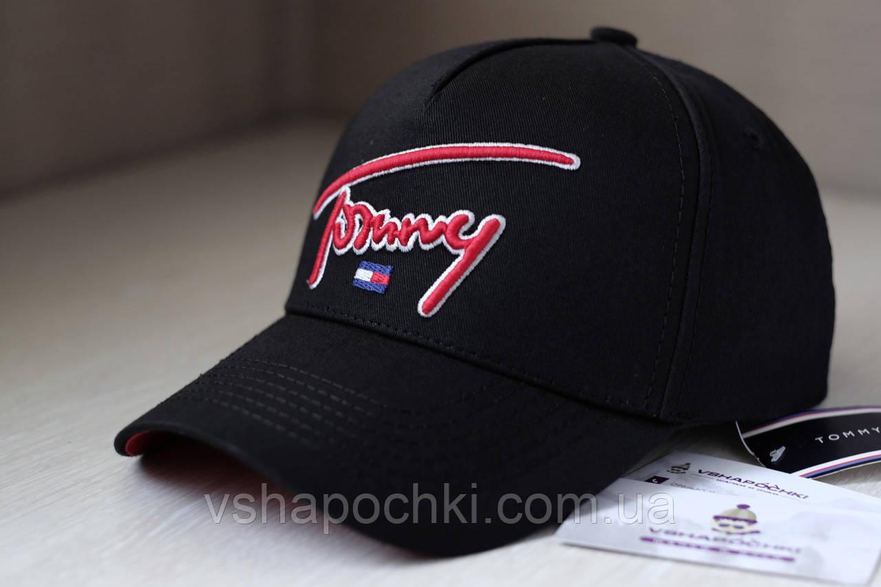 Кепка с логотипом Tommy Hilfiger черный