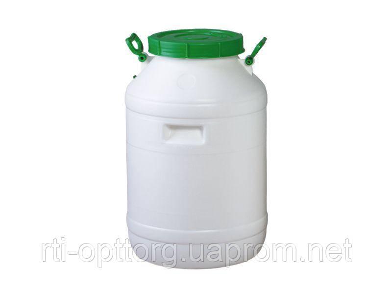 Бочка пластмассовая для питьевой воды 60л, горловина 215мм