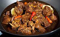 Горячие блюда из свинины, говядины, баранины и кролика
