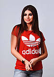 Женская стильная турецкая футболка Ф24 в расцветках, фото 4