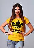 Женская стильная турецкая футболка Ф24 в расцветках, фото 6