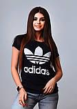 Женская стильная турецкая футболка Ф24 в расцветках, фото 8