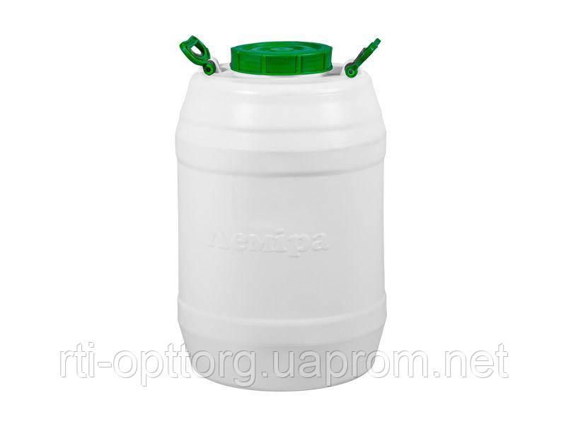 Бочка пластмассовая для питьевой воды 60л, горловина 159мм