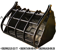Ковши з захватом для телескопічних навантажувачів, фото 1