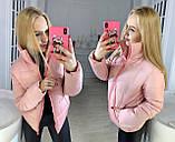 """Жіноча стильна куртка демисезон 9276 """"Канада Стійка"""" в кольорах, фото 4"""