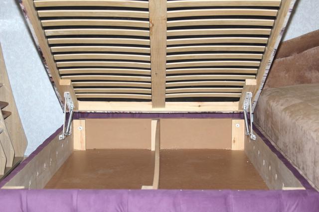 кровать ортопедическая с нишей для белья