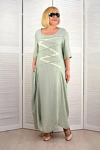Платье Бохо мята - Модель Л350-14
