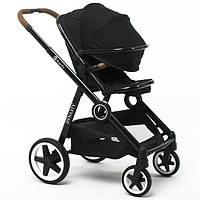 Детская прогулочная коляска Babyzz Dynasty (черная) + бесплатная доставка