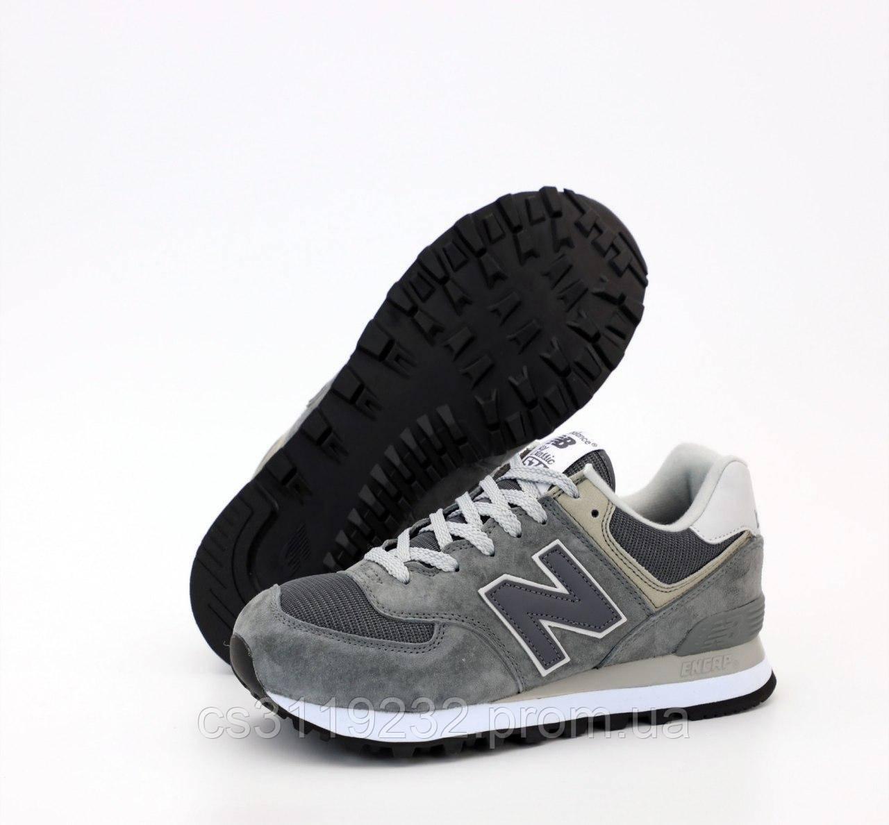 Мужские кроссовки New Balance 574 (серые)