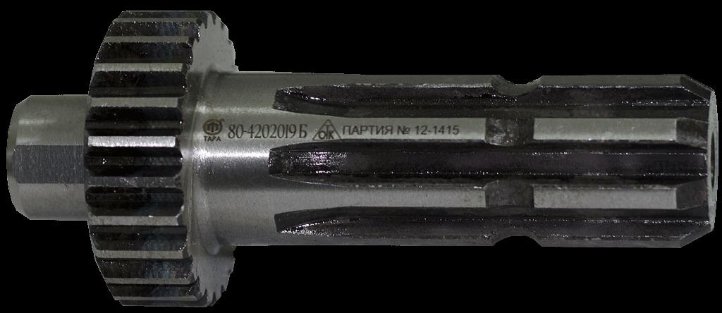 Хвостовик 80-4202019Б ВОМ МТЗ-80 (зуб. 8 шліців) ТАРА