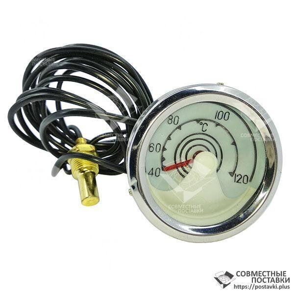 Указатель температуры механический УТ-200 L=1,67 м с подсветкой (МТЗ, ЮМЗ, котлы отопления)