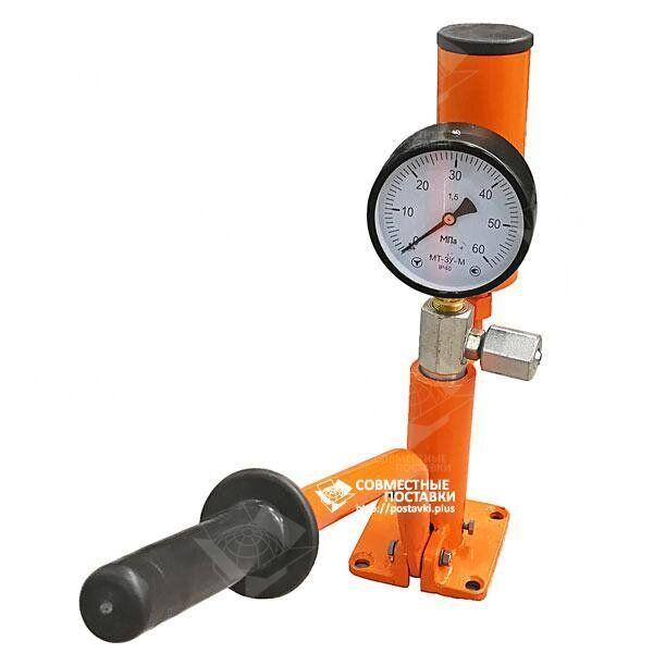 Стенд для проверки и регулировки дизельных форсунок типа КИ-562 60 МПа